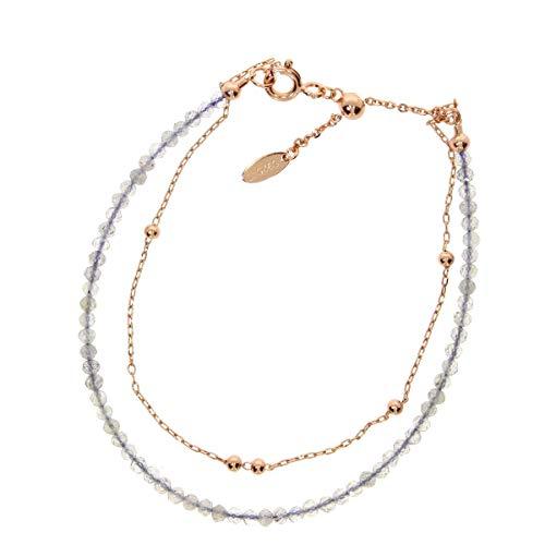 Zoeca - Armkette - Santa Monica - 925 Silber - Nickelfrei - Mondstein Perlen