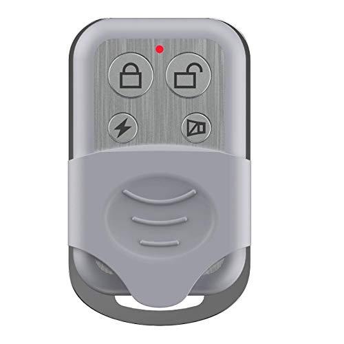 tiiwee Control Remoto TWRC03 Tiiwee para el Sistema de Alarma de Hogar - Sistema de Alarma hogareño Anti-ladrón inalámbrico - Seguridad en el hogar