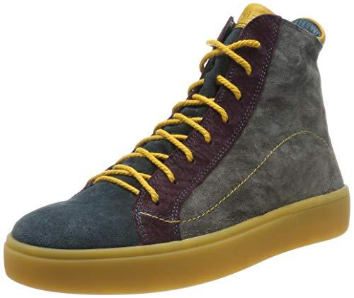 Think! Damen GRING_585208 Desert Boots, Mehrfarbig (Antrazit/Kombi 15), 38.5 EU