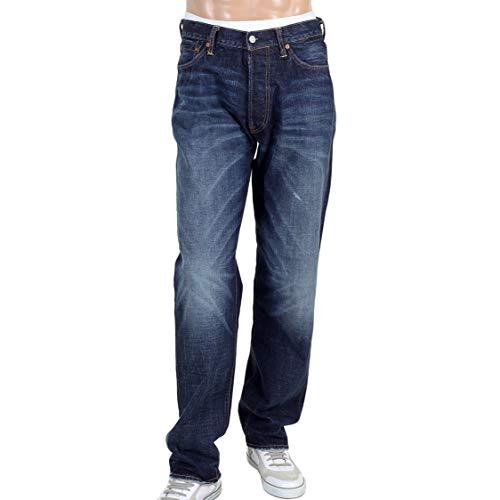 EVISU Jeans diacock Dark Stone wash Jean EVIS1689 Blue