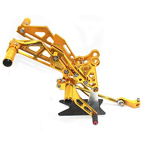 Rearsets Rear Sets Footpegs CNC Adjustable For Honda GROM MSX125 2013-2019