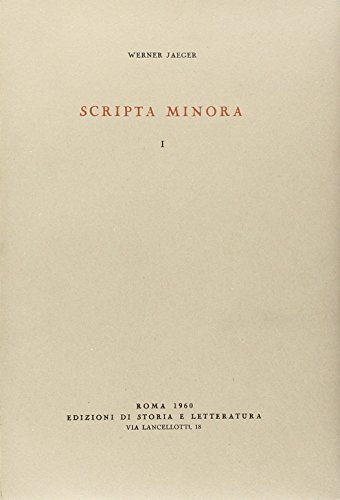 Scripta minora