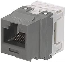 Panduit NK688MIG Category-6 8-Wire Jack Module, International Grey