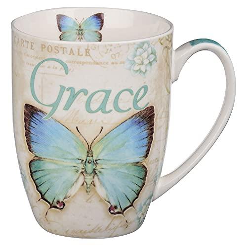 Amazing Grace Butterfly Mug