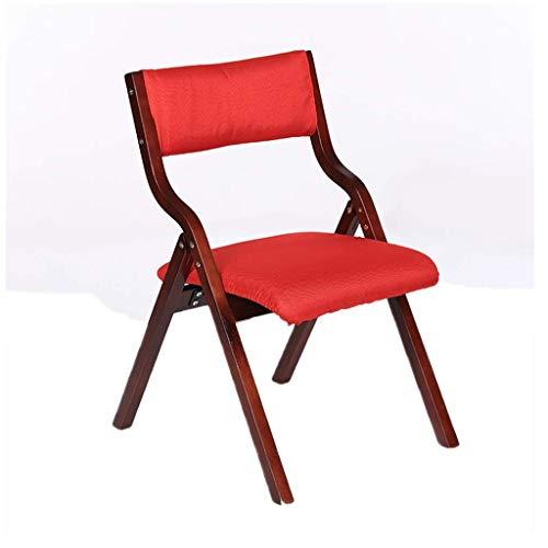 CSD chaise de bureau table de salle de table de la table confort linge de lit en coton laine Table lavable facile à se laver les mains chaise de bureau à domicile (Color : RED)