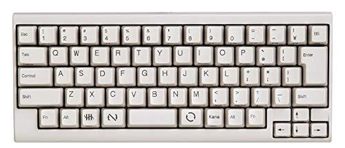 PFU Happy Hacking Keyboard Lite2 日本語配列かな印字なし USBキーボード ホワイト PD-KB220W/U