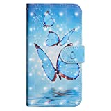 Bravoday iPhone 6 Plus / iPhone 6S Plus Leather Wallet Case, Flip Case with [Kickstand] [Card Slots] [Magnetic Closure] Flip Notebook Cover Case for iPhone 6 Plus / iPhone 6S Plus-Butterfly#2