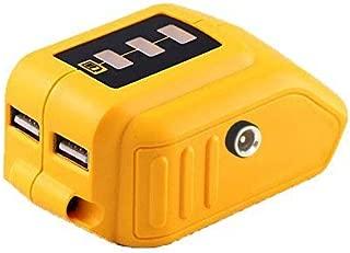 20V Max Power Source for Dewalt Heated Jacket DCB091 Converters with USB and 12V Outlets Fit for Dewalt 20V Battery