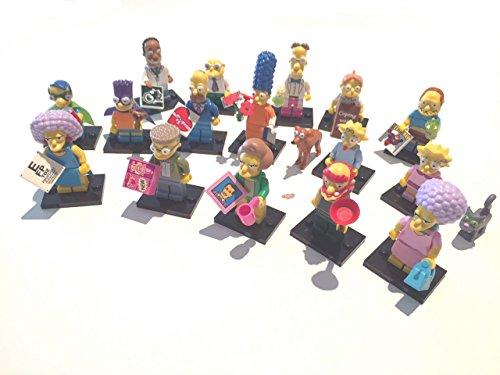 Lego Minifiguras Simpsons Serie 2 - 71009 - Colección completa de 16 minifiguras