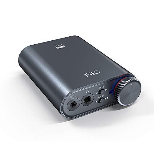 FiiO K3 DSD256 | 384K/32Bit USB-C DAC e Amplificatore per cuffie per la casa e il computer (3,5 mm con estremità singola/2,5 mm bilanciato/coassiale e ottiche uscite digitali)…