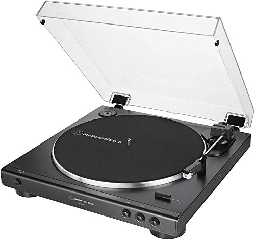 Toca Disco Audio Technica LP60X Automático Bivolt Preto AT-LP60X-BK-C