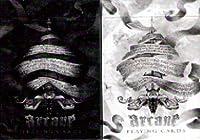 ARCANE(アーケイン) トランプ 黒/白 2デックシュリンクパック