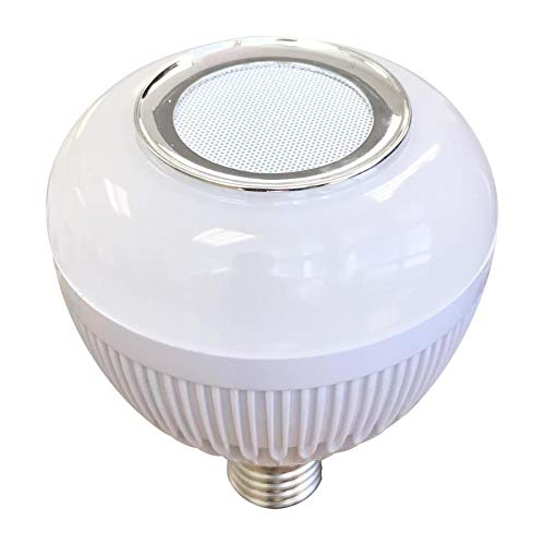 Blue Sky Wireless 60100S Bluetooth Built in Speaker Dimmable Warm White Br30 LED Decorative Light Bulb