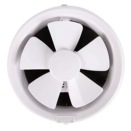 JYJZHX HQSBQISHAN Inicio Ventilador de ventilación Baño Garaje Escape Ventilador de Techo y de Montaje en Pared Extintor de Cocina/baño, Super Silent, Escape Fuerte