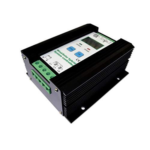 Regulador híbrido solar del viento 1000W turbina de viento 600W regulador del cargador del panel solar 400W regulador automático de la batería 12V / 24V con la exhibición grande del LCD
