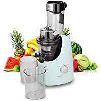 Comfee' BPA Free Masticating Juicer Extractor with Ice Cream Maker