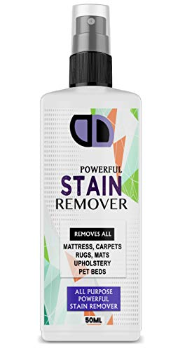 Carpet Stain Remover Blood Bed Wee Vomit Urine Pet Faeces Cleaner 50ml Spray