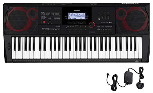 Price comparison product image Casio CT-X3000 High Grade Keyboard with 61 Touch Response keys - Black