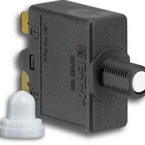 Paneltronics Thermal Push to Reset Circuit Breaker - 15 Amp - SP, CE Compliant