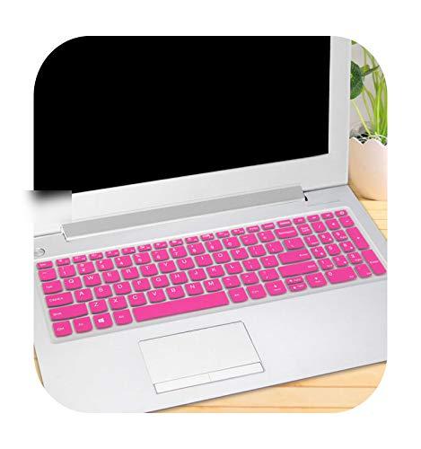 TOIT 15 15 6 Zoll Laptop-Tastaturabdeckung für Lenovo Ideapad L340 15 S340 330S 15Ikb 340C 340C 15Ikb 330C 330S 330S 15Ikb-Rose-