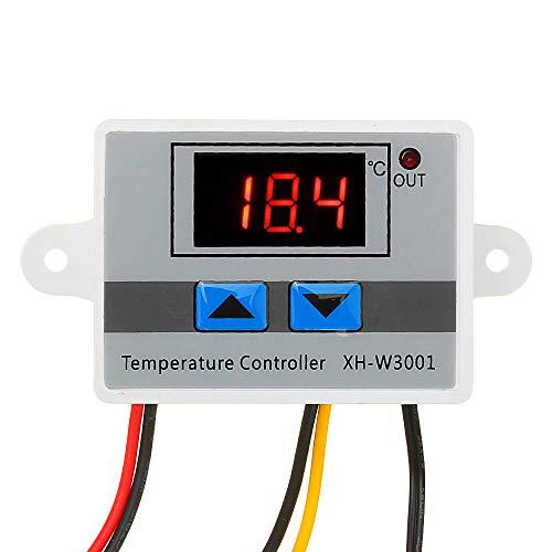 Davitu Module Board Test & Measuring Module - XH-W3001 AC220V Microcomputer Digital Temperature Controller Thermostat Temperature Control Switch With Display