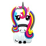 iPod Touch 7(2019) Case,iPod Touch 5/6 Case,Awin 3D Cute Cartoon Animal Soft Silicone Rubber Case For iPod Touch 5/Touch 6/Touch 7(2019)(Rainbow Unicorn)
