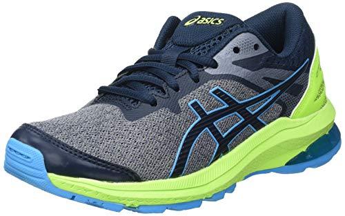 ASICS GT-1000 10 GS Road Running Shoe, French Blue/Digital Aqua, 39 EU