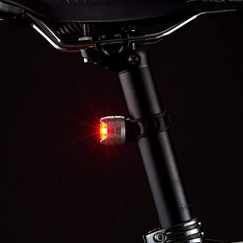 キャットアイ(CATEYE)テールライトORBシルバー電池式SL-LD160-Rライト自転車