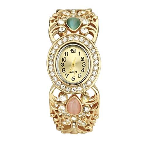 Armbanduhr Damen Uhren Luotuo 2019 Exquisit Europäer und Amerikaner Damenuhr Eigenschaften Bunt Diamant Uhr Geschäft Freizeit Watch Handschmuck