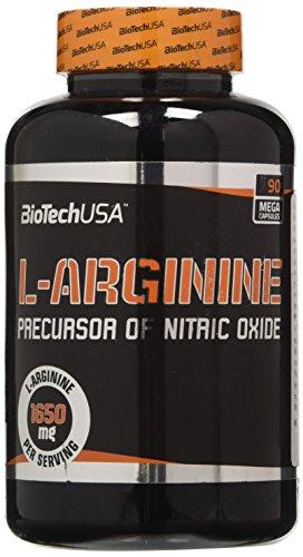 BioTech USA IAF00081498 L-Arginine, 90 Capsule