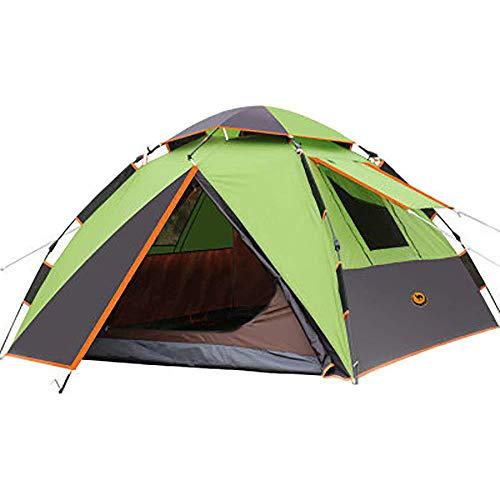 ASDAD Camping Tent, 3-4 personen Instant Pop-Up Familie Tent Dubbel Waterdicht 4 Seizoen Rugzak Tent Voor Picknick Wandelen Visvangst Trip
