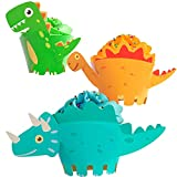 Moon Boat Dinosaur Cupcake Wrappers Toppers Party Supplies Birthday...