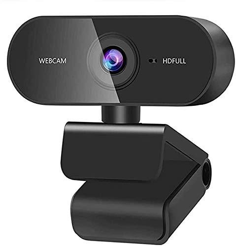 XYvee Webcam mit Mikrofon, 1080P Streaming Kamera, Webcam für PC, Laptop, Mac, Webcam USB für Video Chat und Aufnahme, Studieren, Konferenzen