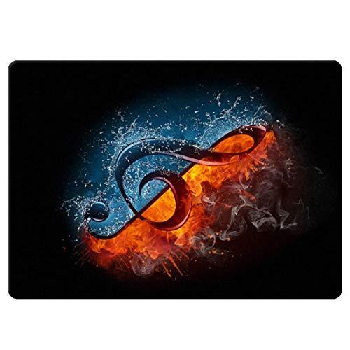 YUANZHOU Drum Teppich Schlagzeug Teppich Schallschutz Teppich Schallschutzmatte 120CM * 80CM,A