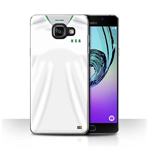 Stuff4® hoes/case voor Samsung Galaxy A5 (2016)/Saudi-Arabi/Arabisch patroon/wereldkampioenschap 2018 voetbalshirt collectie