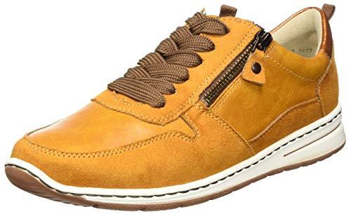 ARA Damen Sapporo Sneaker, Gelb (Curry), 38.5 EU (5.5 UK)