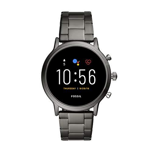 Fossil Smartwatch Touchscreen Connected Uomo Acciaio inossidabile FTW4024, Grigio