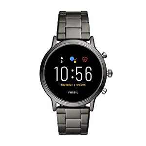 Fossil Gen 5 Carlyle Stainless Steel Touchscreen Smartwatch with Speaker, Heart Rate, GPS, Contactless Payments, and…
