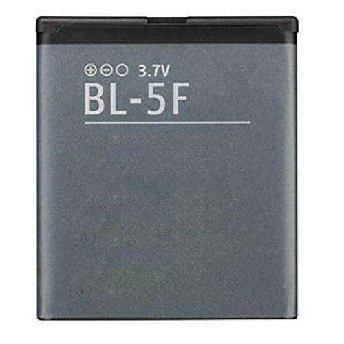 Ellenne Batteria Compatibile con Nokia BL-5F BL5F N95 N96 N93 E65 6210 6290 6710 Alta capacità 950MAH