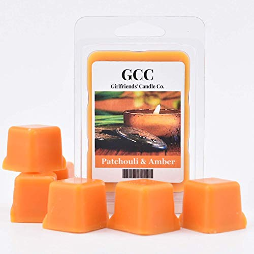 Patchouli & Amber Scented Wax Melt
