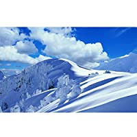 パズルジグソーパズル美しい雪の山の風景のパズル木製の500から6000個の高難易度アダルトチルドレン解凍エンターテイメントゲームの教育おもちゃセット (Size : 1500PCS)