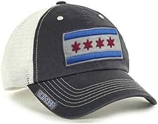 City of Chicago Vintage Mesh Adjustable Flag Hat