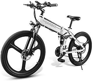 Bicicletta elettrica pieghevole 350w 25km/h da 26 pollici uomini donne mountain bike