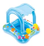 Product Image of the Intex Kiddie Float 32in x 26in (ages 1-2 years) , Yellow