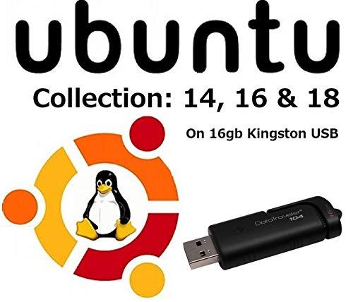 Ubuntu 16.04[última 2016] largo plazo Support 8GB unidad flash USB