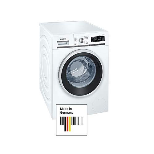 Siemens WM16W540 - Lavadora (Independiente, Color blanco, Frente, 8 kg, 1600 RPM,...