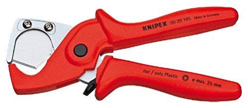 KNIPEX PlastiCut Schlauch- und Schutzrohrschneider (185 mm) 90 20 185