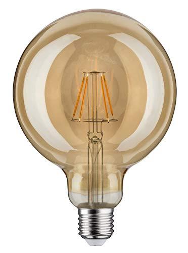 Paulmann 283.81 LED Globe Ø125mm 6,5W E27 230V Gold Warmweiß 28381 Leuchtmittel Lampe