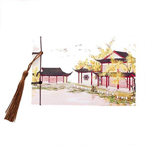 Caim-dagboeken, Chinees, retro, zak-notitieboek, leeg fotoalbum, schetsboek, briefpapier, reisbureau, schept notitieboek