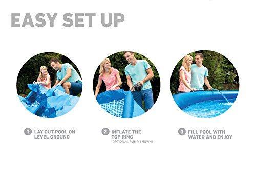 Intex Easy Set Aufstellpool, blau, Ø 305 x 76 cm - 7